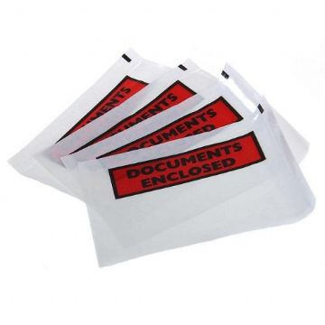 Documents Enclosed (Printed)<br>Size:  A7 128x108mm<br>Pack of 1000